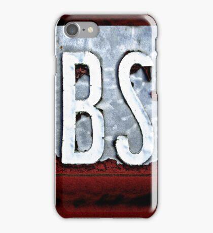 BS iPhone/iPod case iPhone Case/Skin