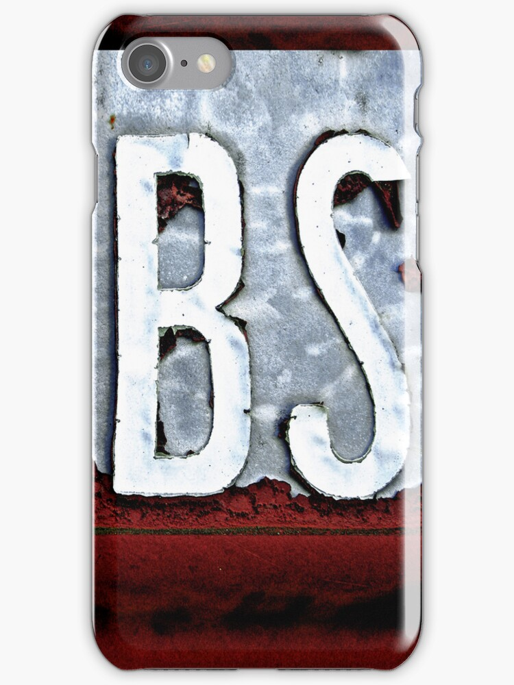 BS iPhone/iPod case by Jay Taylor