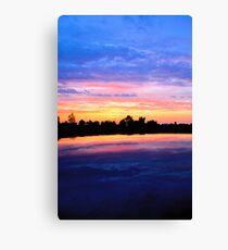 Sky, Earth and Camry Canvas Print