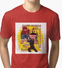 James Madison - Ninja Warrior! t-shirt Tri-blend T-Shirt