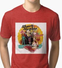 Thomas Jefferson - Shark Hunter! t-shirt Tri-blend T-Shirt