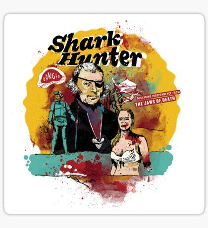 Thomas Jefferson - Shark Hunter! t-shirt Sticker