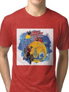 Teddy Roosevelt - Space Assassin! t-shirt Tri-blend T-Shirt
