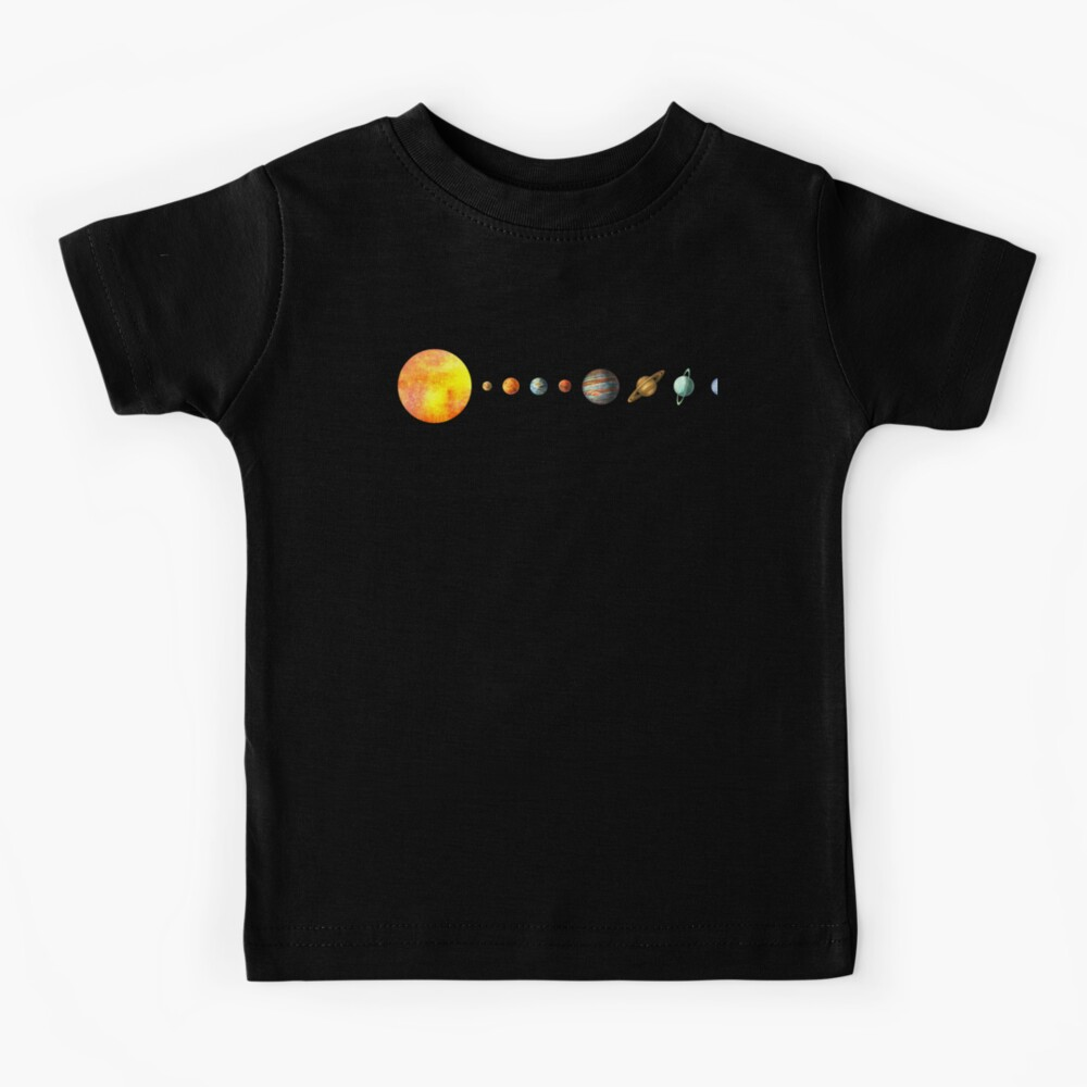 The Solar System Kids T-Shirt