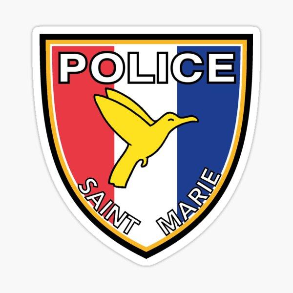 POLICE de SAINT MARIE Sticker