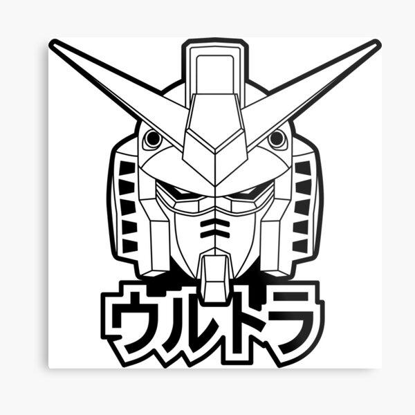 Gundam Lámina metálica