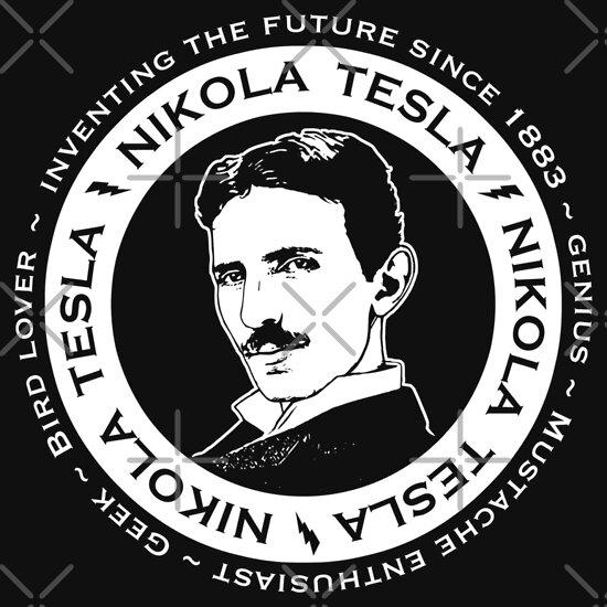 TShirtGifter presents: Nikola Tesla