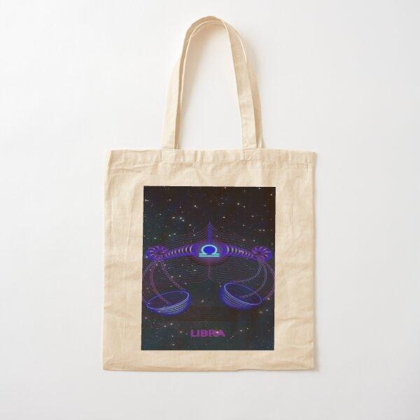 Libra Zodiac  Cotton Tote Bag