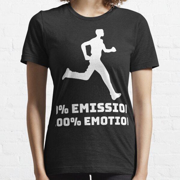 Jogger Marathon 0% Emission 100% Emotion Klima Öko Essential T-Shirt