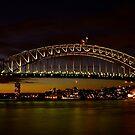 Dusk in Sydney. by Julie  White