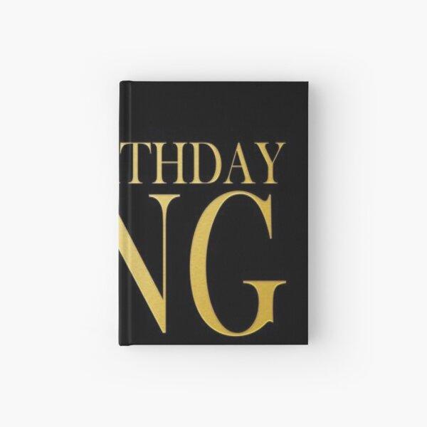 Birthday King Hardcover Journal
