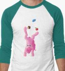 Juggling Pinkie Pie Men's Baseball ¾ T-Shirt