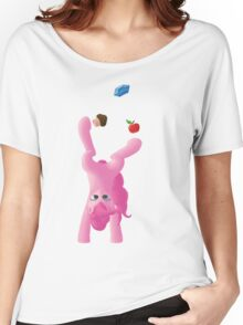 Juggling Pinkie Pie Women's Relaxed Fit T-Shirt