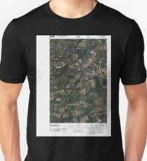 USGS Topo Map Washington State WA Vance Creek 20110510 TM T-Shirt