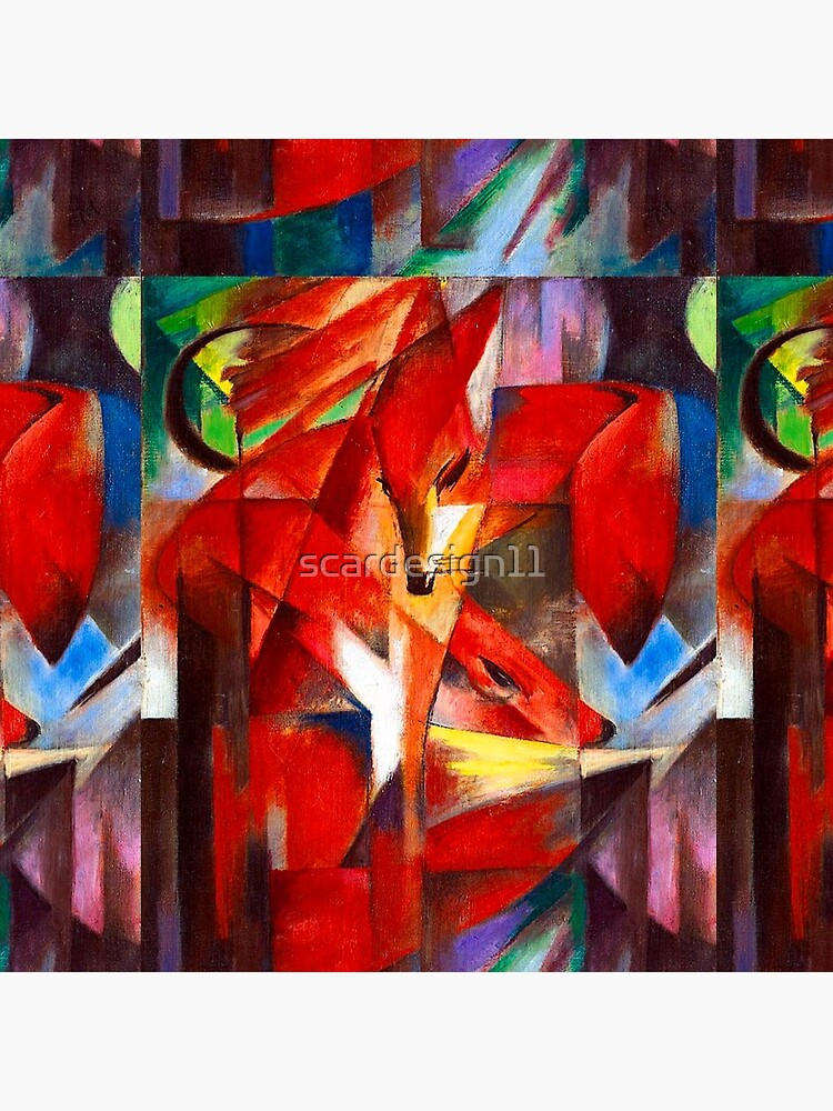 Franz Marc - Foxes by scardesign11