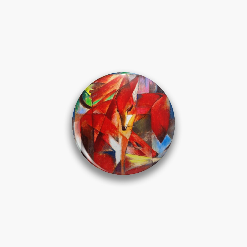 Franz Marc - Foxes Pin