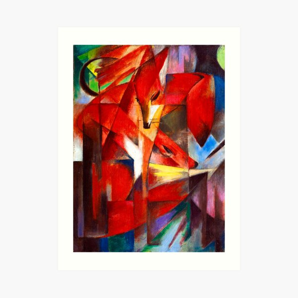 Franz Marc - Foxes Art Print