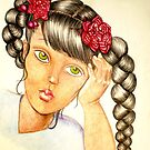 Blooms and Braids by Lenora Brown