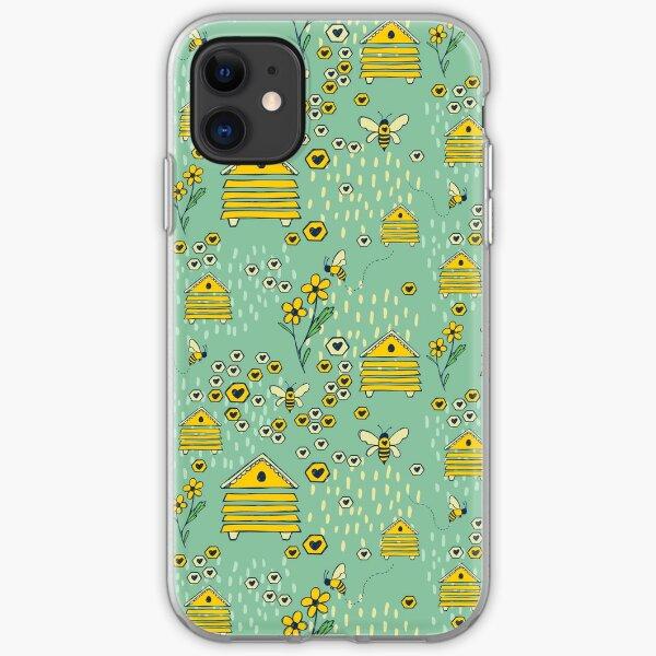 Honey Comb Hives iPhone Soft Case
