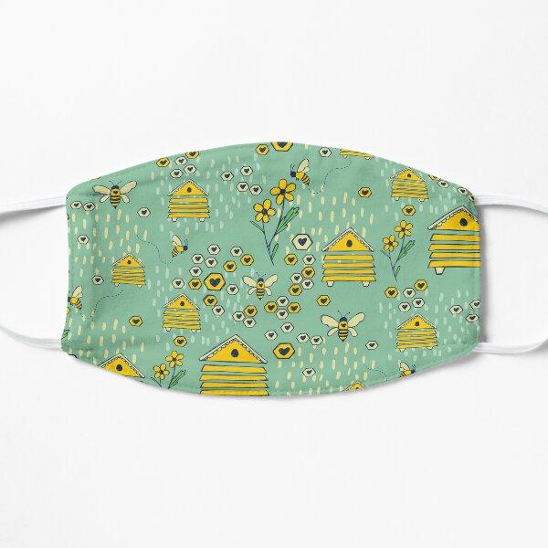 Honey Comb Hives Flat Mask