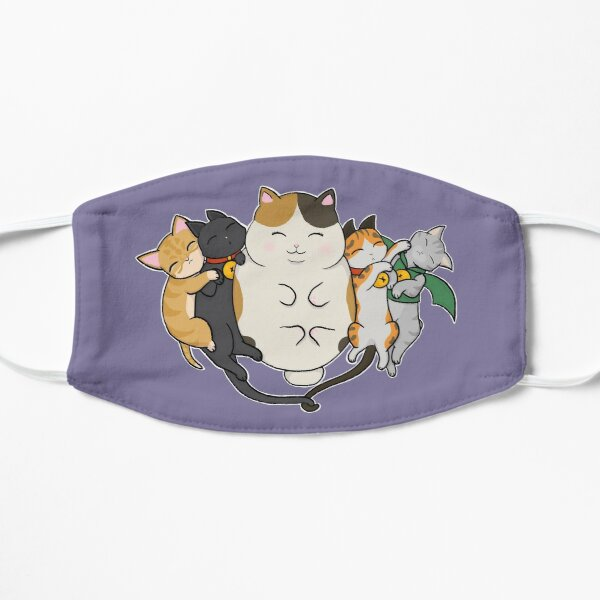 Sleepy Cats Flat Mask