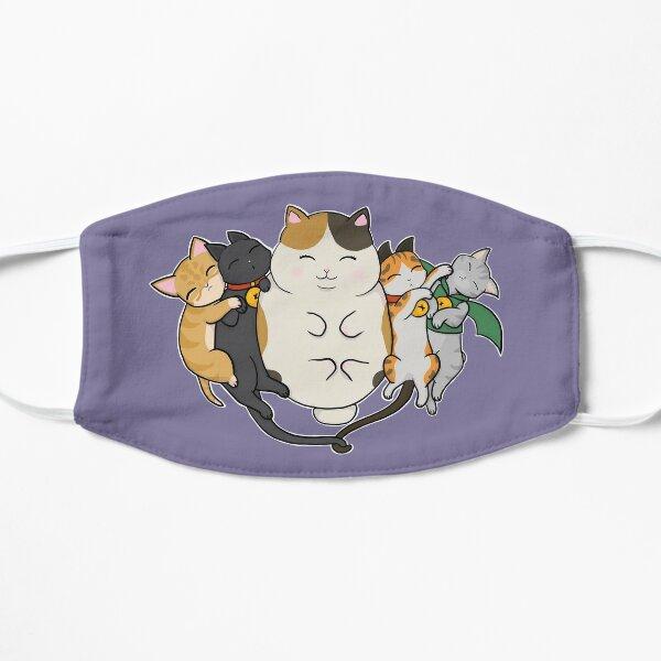 Sleepy Cats Flat Mask