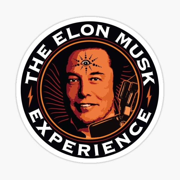 Elon Musk JRE Sticker