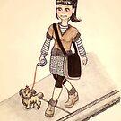 Dog Walker by Lenora Brown