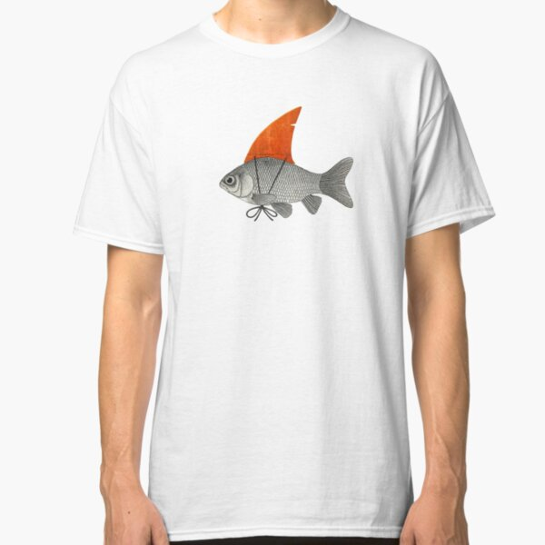 Goldfish with a Shark Fin Classic T-Shirt