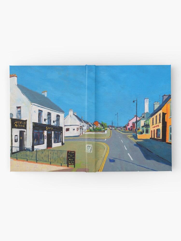 Alternate view of Enniscrone Pubs, County Sligo, Ireland Hardcover Journal