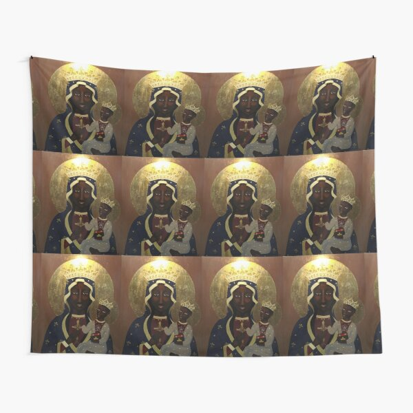 The Black Madonna Tapestry