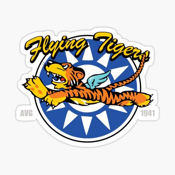 WW2 Flying Tigers AVG Sticker