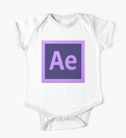 After Effect  CS6 Logo Kids Clothes