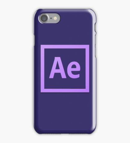 After Effect  CS6 Logo iPhone Case/Skin