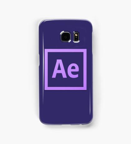 After Effect  CS6 Logo Samsung Galaxy Case/Skin