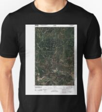 USGS Topo Map Washington State WA Wellpinit 20110401 TM T-Shirt