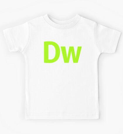DreamWeaver CS6 Letters Kids Clothes