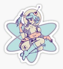 Space Babe Sticker