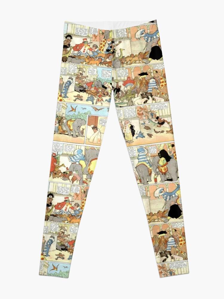 Alternate view of Old comic strip Leggings