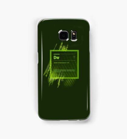 DreamWeaver CS6 Splash Screen Samsung Galaxy Case/Skin