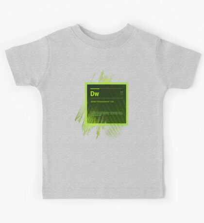 DreamWeaver CS6 Splash Screen Kids Clothes