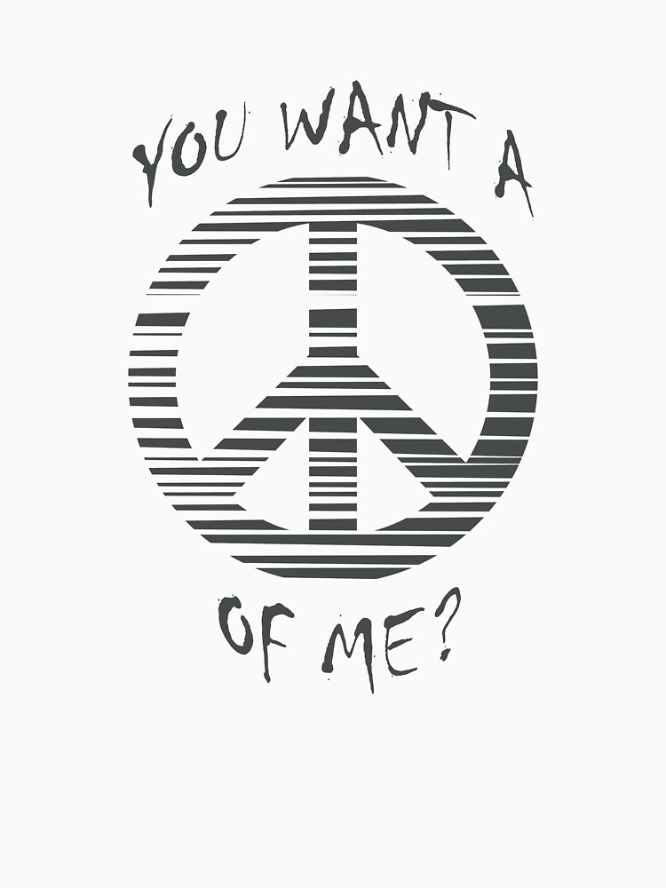 You want a peace of me? by meredithjean