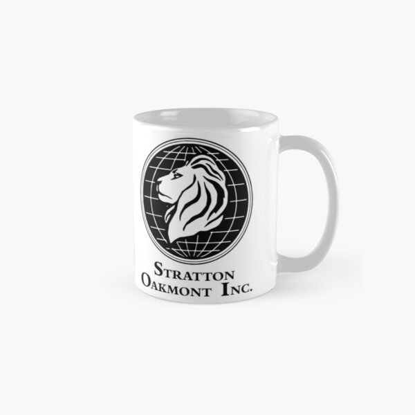 Stratton Oakmont Inc Logo From The Wolf Artwork Of Symbol For Tshirts Prints Posters Bags Men Women Classic Mug