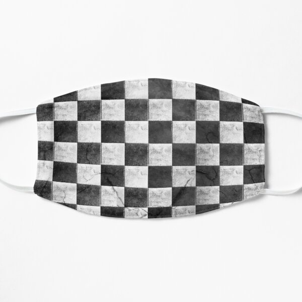 Checkered mask Flat Mask