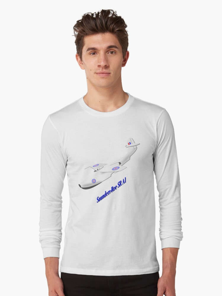 Saunders-Roe SR./A.1 T-shirt by Dennis Melling