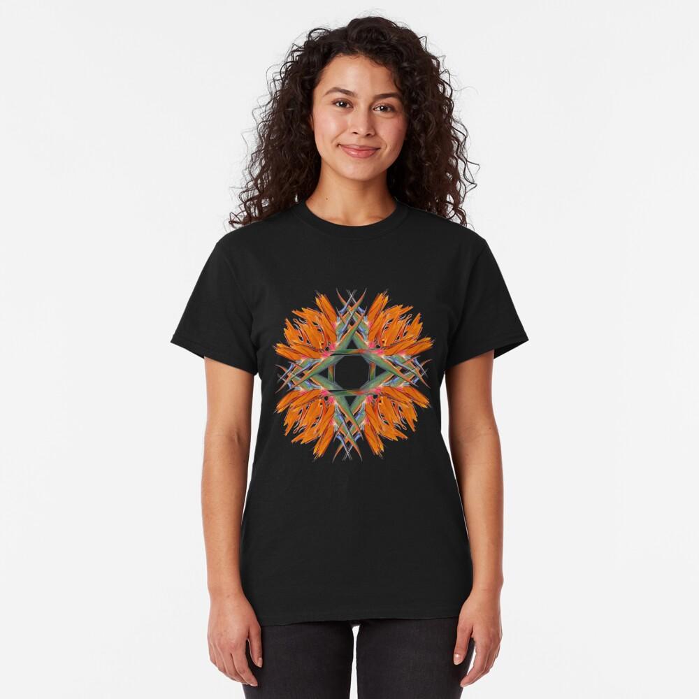 Bird of Paradise Swirl Tee Design Classic T-Shirt