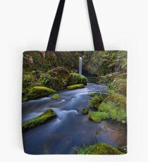 Omanawa river drift Tote Bag