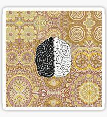 Cerebro grande Pegatina