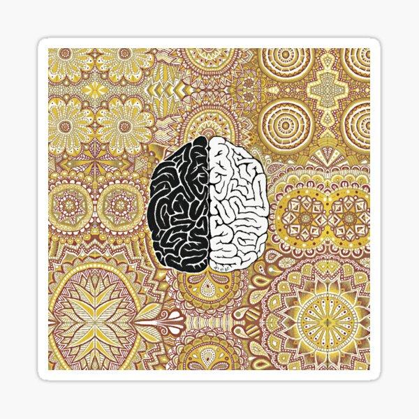 Grand cerveau Sticker