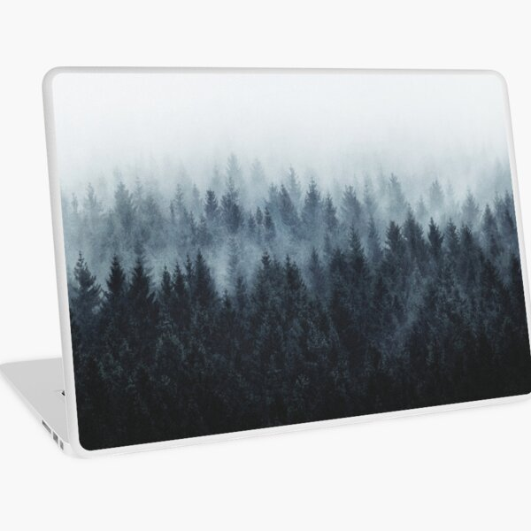 High And Low Laptop Skin